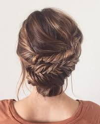 braided hairstyles for thin hair 8 best wedding hair images on pinterest updos for thin hair