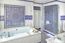3 colorful moroccan wall sconces 45 bathroom tile design ideas