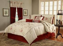 Vintage Comforter Sets Bedroom Pleasant Queen Comforter Sets With Matching Curtains