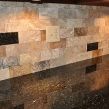 The Best Backsplash Ideas For Black Granite Countertops by Black Granite And Dark Cabinets Lighten Up Kitchen With White