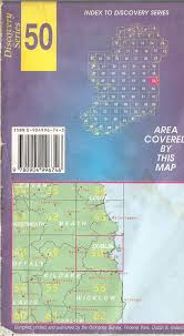 Blank Map Of Counties Of Ireland by Ordnance Survey Discovery Series Maps Co Dublin