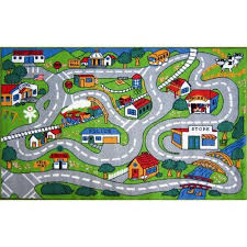 Childrens Play Rug by Kids Car Track Rug Roselawnlutheran