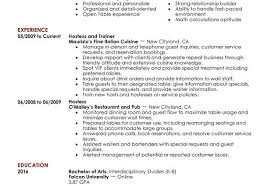 Sample Resume For Hostess by Hostess Resume Sample Host Hostess Food And Restaurant John Rogers