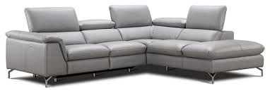 Leather Sectional Sofa Viola Italian Leather Sectional Sofa With Power Recliner