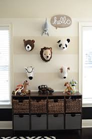 toddler teen playroom on the blog target animal heads