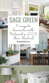 joanna gaines painted kitchen cabinets green remodelaholic green 6 ways to decorate your home