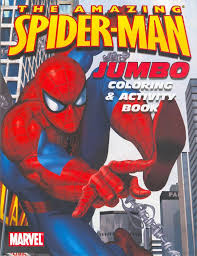 spiderfan org comics amazing spider man jumbo coloring