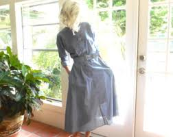 chambray dress etsy