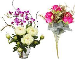 Artificial Flower Decorations For Home Artificial Flower Arrangements For Home Or Wedding U2013 Whereibuyit Com