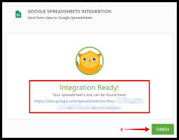 Spreadsheet Integration How To Integrate Form With Spreadsheet Jotform