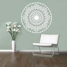 Om Wall Decal Mandala Vinyl by Adesivo De Parede