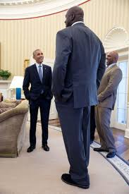 file shaquille o u0027neal in the oval office jpg wikimedia commons