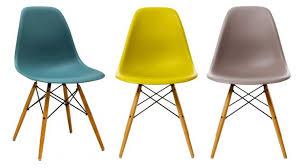 chaises vitra eames couleur soldes comprenant passionnant idées de