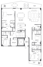 Absolute Towers Floor Plans by Iconbay Luxury Waterfront Residences