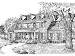 Two Story House Plans With Balconies Dandridge Georgian Home Plan 055d 0025 House Plans And More