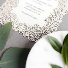 laser cut wedding programs laser cut wedding invitations