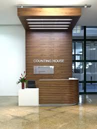 Corian Reception Desk Second Floor Office Design Ideas Reception Desk And Feature