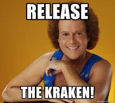 Release The Kraken Meme Generator - release the kraken gay richard simmons meme generator