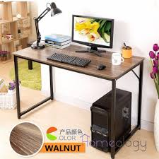 study computer table space saving office studying desk student