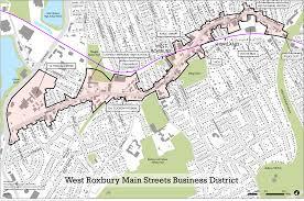 Boston Street Map West Roxbury Community Vision Final Report West Roxbury Main Streets