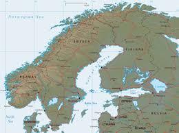 map scandinavia travel guide denmark sweden iceland