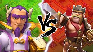 clash of clans clash of clans vs clash of kings