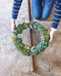diy wreath stand the navage patch