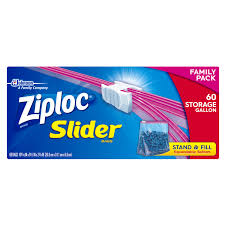 Walmart Furniture Moving Sliders by Ziploc Slider Zipper Bags Gallon 60 Ct Walmart Com