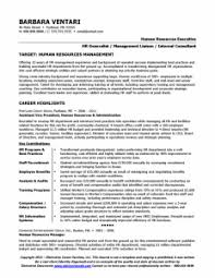 charming human resource management resume sample for hr manager