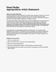 Art Teacher Cover Letters Artist Statements How To Write An Artist Statement Three