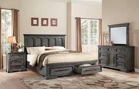 Cal King Platform Bedroom Set Toulon 4pc Rustic Acacia Storages California King Platform Bedroom Set