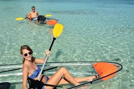 clear kayak excursion mauritius idventure