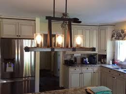 Lowes Chandelier Lighting Shop Kichler Lighting Barrington 5 Light Distressed Black And Wood