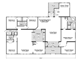 Floor Plans For Modular Homes The Gotham Flex Vr57764b Manufactured Home Floor Plan Or Modular