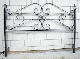 Wood And Wrought Iron Headboards Iron Headboard King U2013 Senalka Com