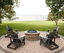 Stone Fire Pit Kit by Aspen Stone Fire Pit Kit Eagle Bay Paver Products Pinterest