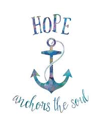 5x7 Love Anchors The Soul - hope anchors the soul printable art nautical by noondaybytracey