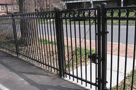 ornamental fence gates swing sliding design