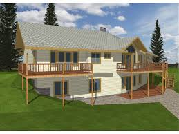 house plans for sloped lots ridge forest rustic ranch home plan 088d 0101 house plans and more