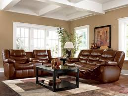 Living Room Leather Furniture Brown Leather Couches Living Room Decor With Sofa Wall Ideas