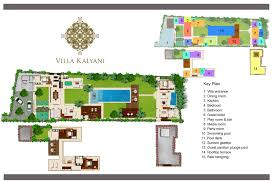 villa floor plan floorplan villa kalyani berawa canggu 5 bedroom luxury villa