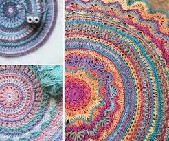 crochet mandala rug roselawnlutheran