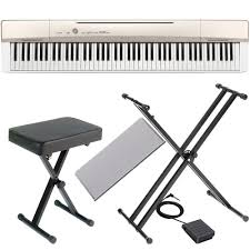 casio privia px160gd with x style stand and x bench las vegas music
