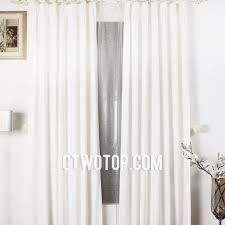 Blackout Curtains White Pure White Innocent Blackout Thick Simple Trendy Best Bedroom Curtains