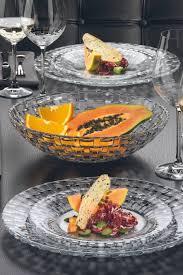 serving plates bowls