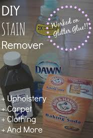 diy upholstery cleaner stain remover worked on glitter glue