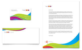 Creating Business Cards In Word Personal Trainer Business Card U0026 Letterhead Template Word