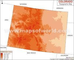 topographic map colorado