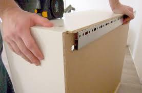 kitchen cabinet installation assembly instruction clip art