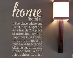 Vinyl Wall Decal Welcome To Our Loud Fun Crazy Happy Home - Family room definition